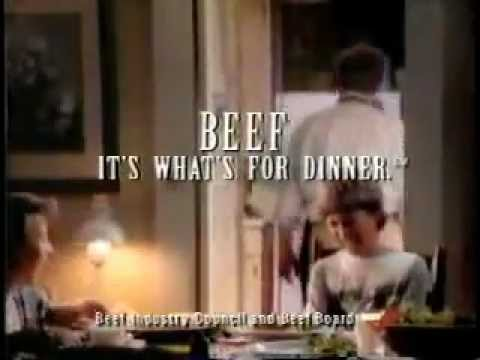 beef its whats for dinner