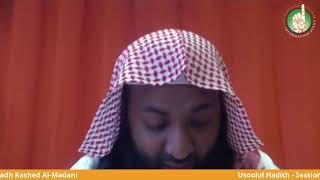 Usoolul Hadith Session Two