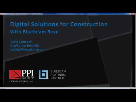 Webinar: Digital Solutions for Construction