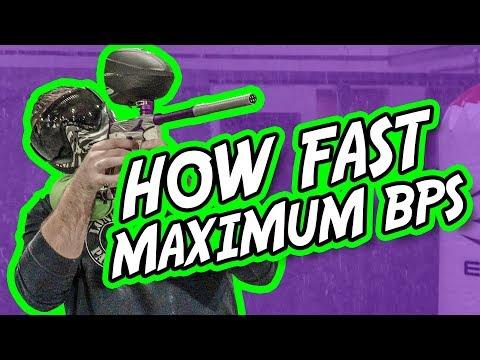 How Fast Can a Paintball Gun Shoot, Maximum BPS   Lone Wolf Paintball Michigan