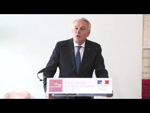 La Maison des Journalistes - Discours de Jean-Marc Ayrault