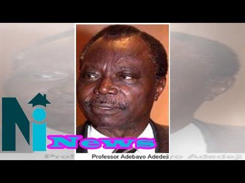 Adebayo Adedeji is dead
