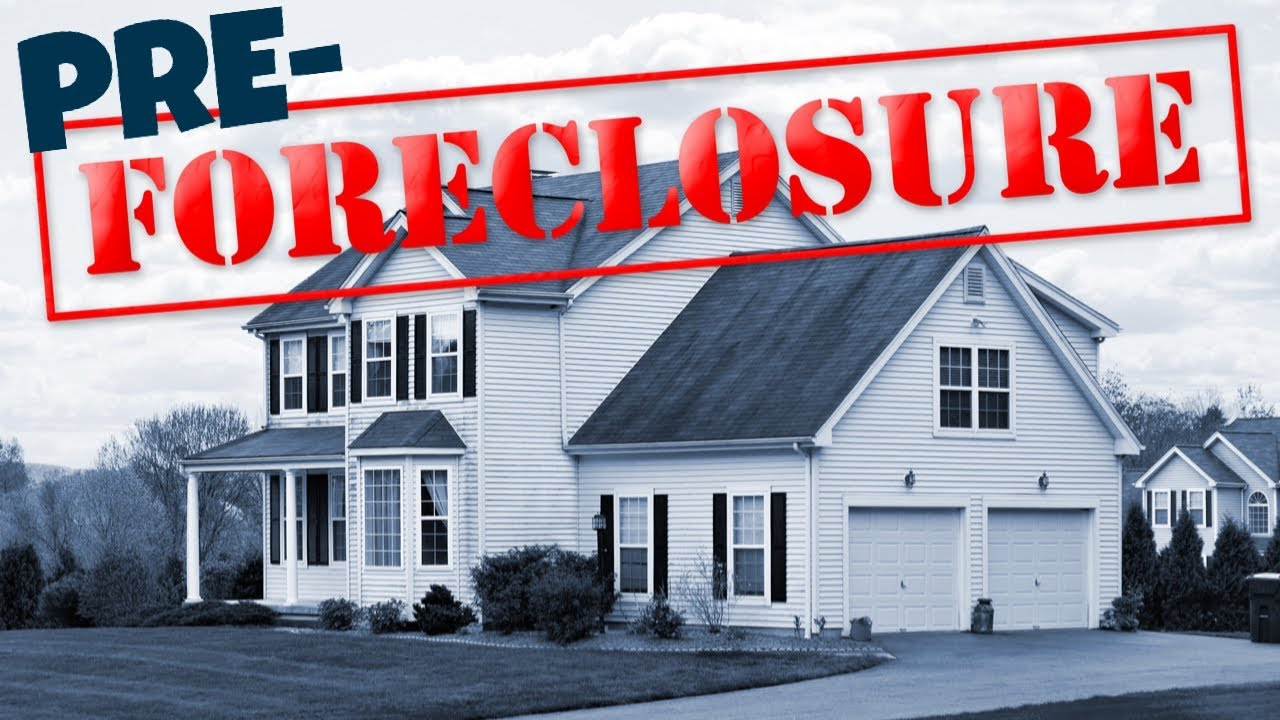 How To Buy Pre Foreclosure Homes - YouTube