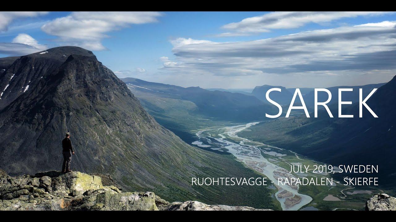 Sarek 2019 solo hike - Ruohtesvagge, Rapadalen and Skierffe (4K)