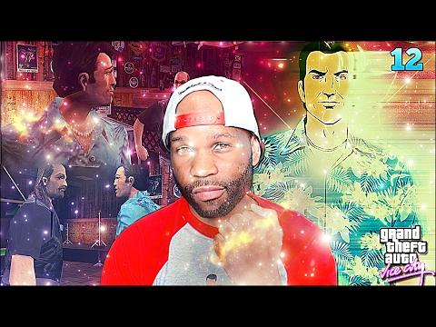 Grand Theft Auto Vice City Walkthrough Gameplay Part 12 - Cutscene Head Glitch (GTA Vice City)