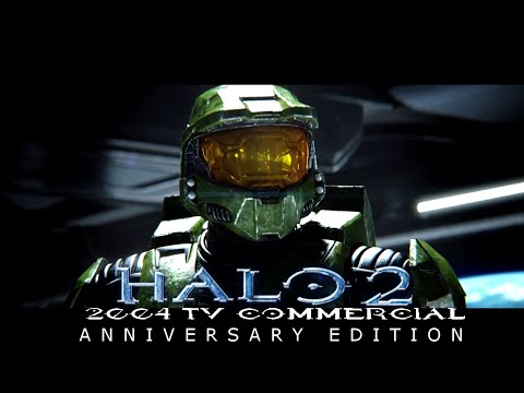 Halo 2 2004 TV Commercial Anniversary Edition made