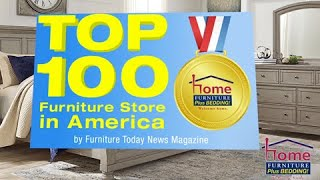 Home Furniture Plus Bedding Is The Top 100 Furniture Store In America – 13 Years Running!