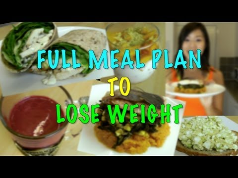 Full Meal Plan to Lose Weight (Step by Step Recipes)