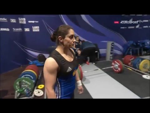 2016 European Weightlifting Women's 69 kg