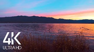 Morning Lake - 8 HOURS of Water Lapping the Lake Shore - Nature Relaxation Sounds