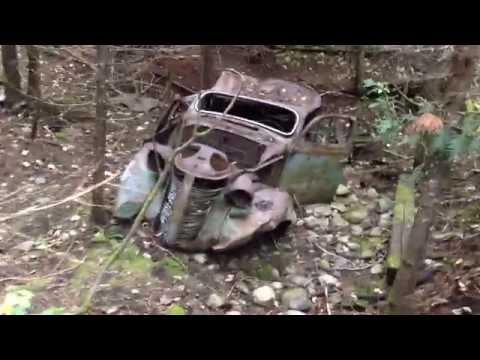 Lost 1938 Studebaker Commander Wreck