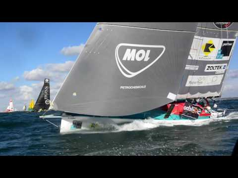 Nándor Fa - SOH - Vendée Globe 2016 THE START