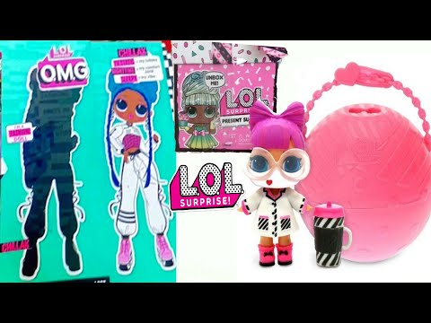 НОВЫЕ КУКЛЫ ЛОЛ ОМГ ! LOL OMG Dolls CHILLAX/ LOL Surprise MGAE Cares/ LOL Surprise Present Surprise