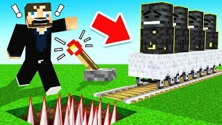 *NEW* Auto WITHER SKELETON Farm (Minecraft)