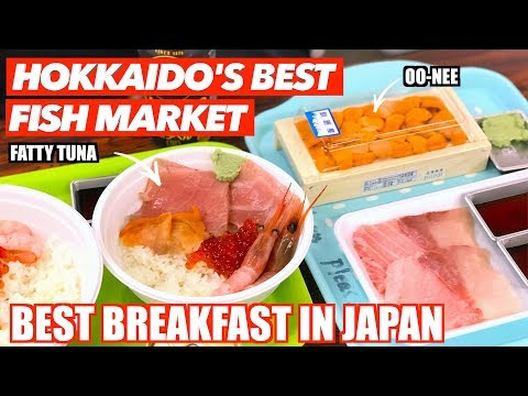 Winter in Hokkaido | TASTIEST SEAFOOD in Japan | Washo Ichiba Market in Kushiro | 和商市場