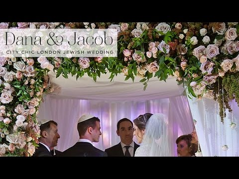 Dana & Jacob |  Religious Jewish wedding at Bloomsbury Ballroom, London, UK