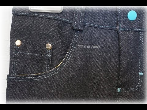 Tuto braguette de pantalon - YouTube b3973cdd312b