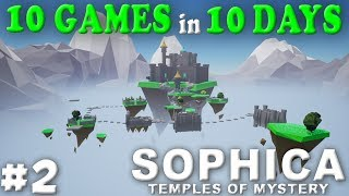 SOPHICA - TEMPLES OF MYSTERY | A RELAXING 3D PUZZLE PLATFORM GAME - Gameplay, Let's Play