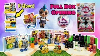 Opening a Full Box of 5 Surprise Mini Brands! Rare GLOW in the DARK! Mini Shopping Brands!