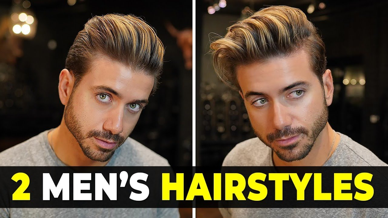 [VIDEO] - 2 EASY MEN'S HAIRSTYLES | Messy & Classic Quiff Men's Haircut | Alex Costa 5