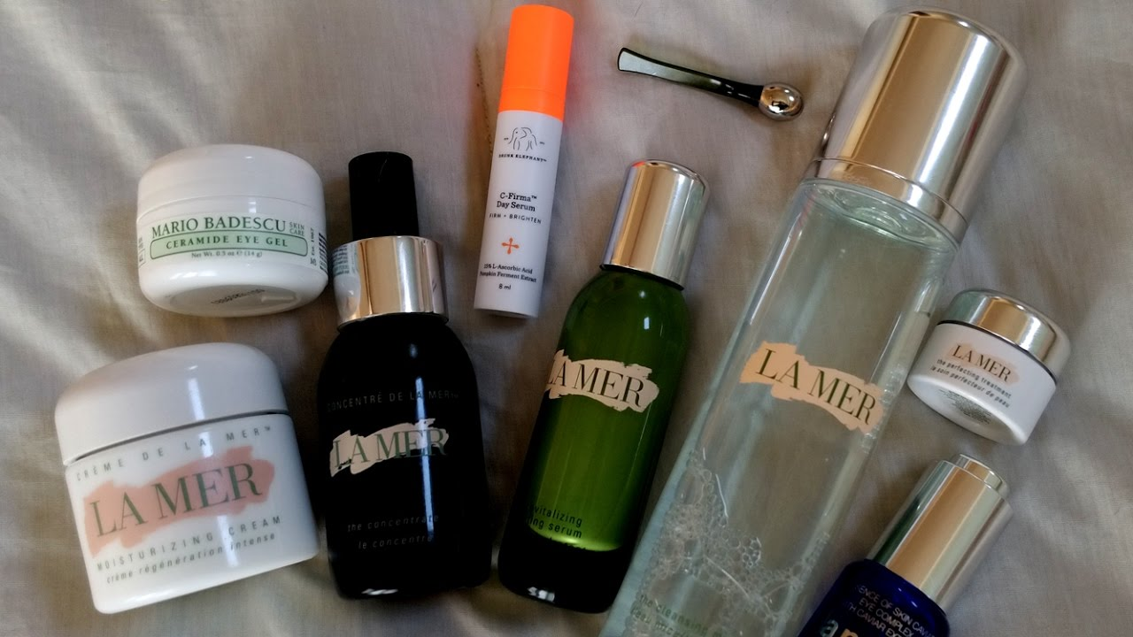 Morning skincare routine la mer drunk elephant la for La cabine skincare