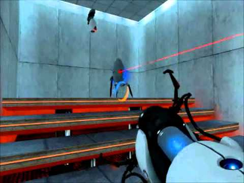 Portal 1-Achievement Guides-Long jump + Terminal Velocity.