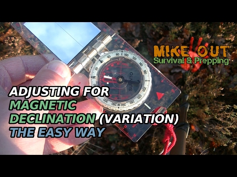 Adjusting for magnetic variation/declination (MikeOut E2)