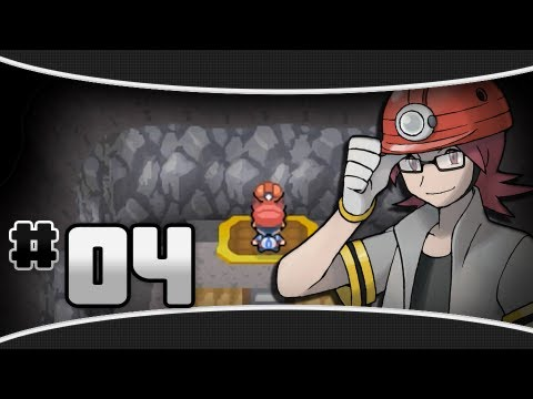 pokemon platinum part 4 gym leader roark youtube