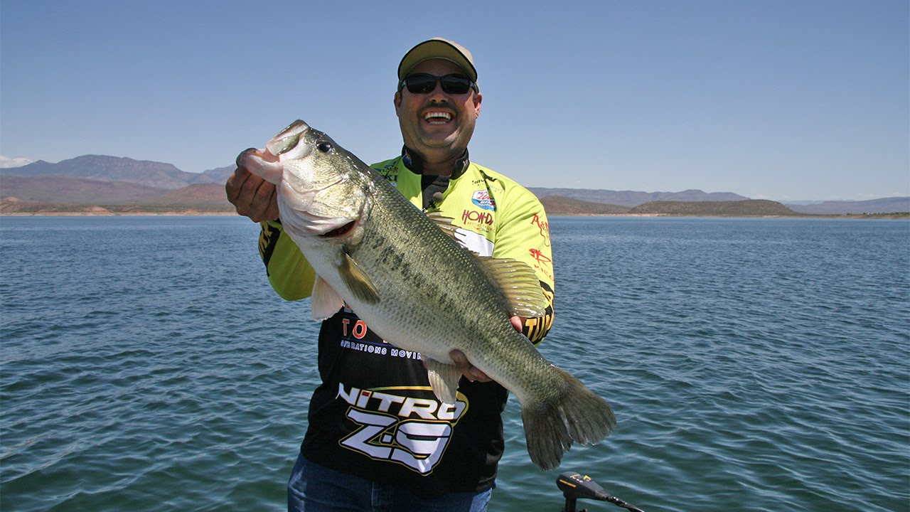 fishing with johnny johnson roosevelt lake az