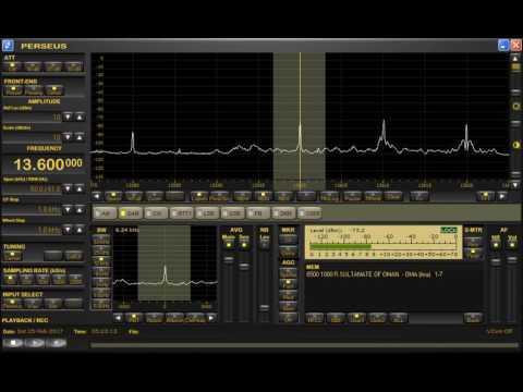 13600kHz Radio Sultanate of Oman
