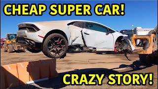 Rebuilding A Wrecked Lamborghini Huracan Video