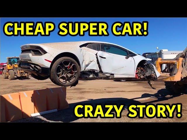 Wiederaufbau eines zerstörten Lamborghini Huracan + video