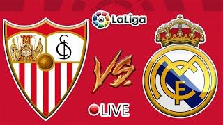 SEVILLA vs REAL MADRID (EN DIRECTO) Jornada 12 La Liga Santander 20/21