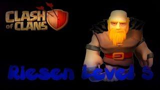 Clash of Clans Deutsch 097 Handy Riesen Level 5