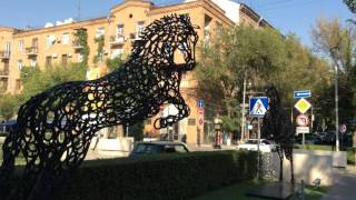 Yerevan, 24.09.15, Video-1, Kaskad(Live streets view, Yerevan, September 24, video-1, Isahakyan, Tamanyan, Tamanyan park, purak., 2015-09-24T21:58:00.000Z)
