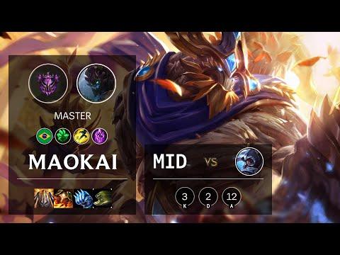 Maokai Mid vs Talon - BR Master Patch 10.16