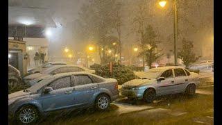 Природа сошла с ума - Бразилию засыпало снегом! #Brazil #snowfall #frost