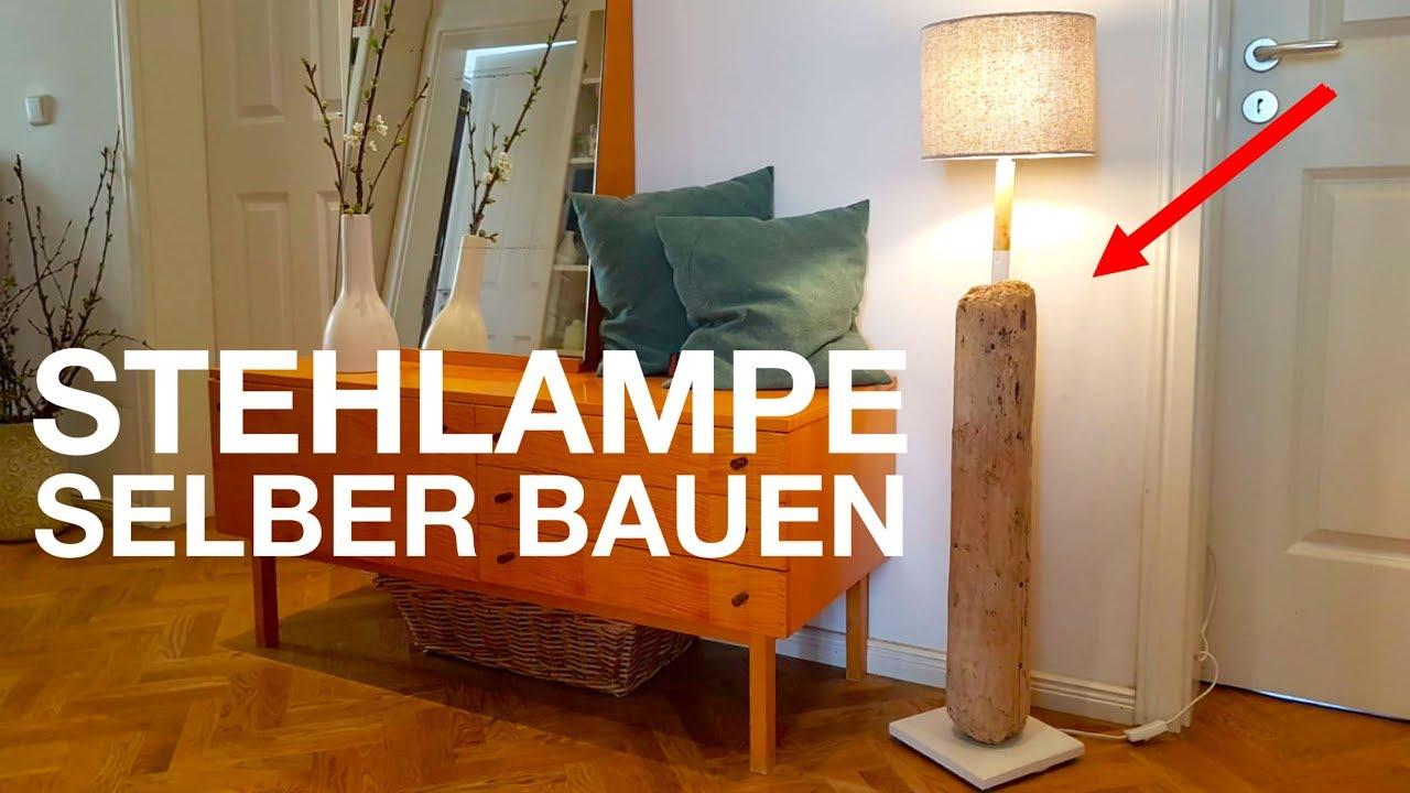 Lampe aus Treibholz selber bauen. Upcycling Projekt aus ...