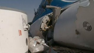 Russia confirms bomb brought down plane over Egypt