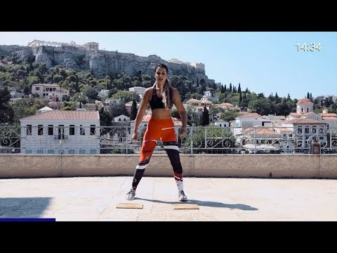 23 Min Abs and Glutes Workout // Bodyweight // From Athens