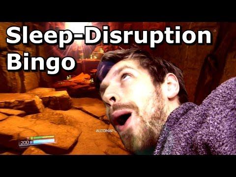 Sleep Disruption Bingo