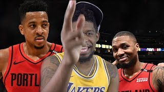 DAMIAN LILLARD WHERE ARE YOU!? NUGGETS vs BLAZERS GAME 7 NBA PLAYOFFS HIGHLIGHTS