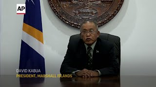Marshall Islands: Can't fight climate change alone