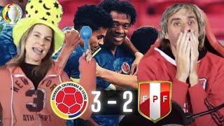 COLOMBIA 3 vs PERU 2 - COPA AMERICA 2021 - Mejores momentos