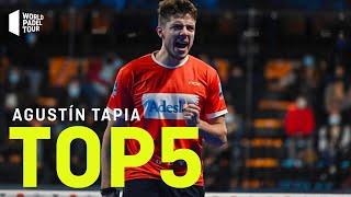 #Top5 Puntazos Agustín Tapia 2020 | World Padel Tour