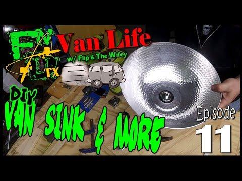 DIY Van Sink and More