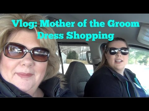 Vlog | Shopping for Mother of the Groom Dresses (plus size)