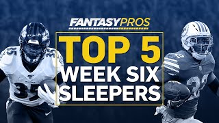 Top 5 Sleepers Starts (Week 6 Fantasy Football)