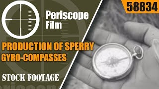 PRODUCTION OF SPERRY GYRO-COMPASSES BY DODGE BROTHERS  IN WWII 58834