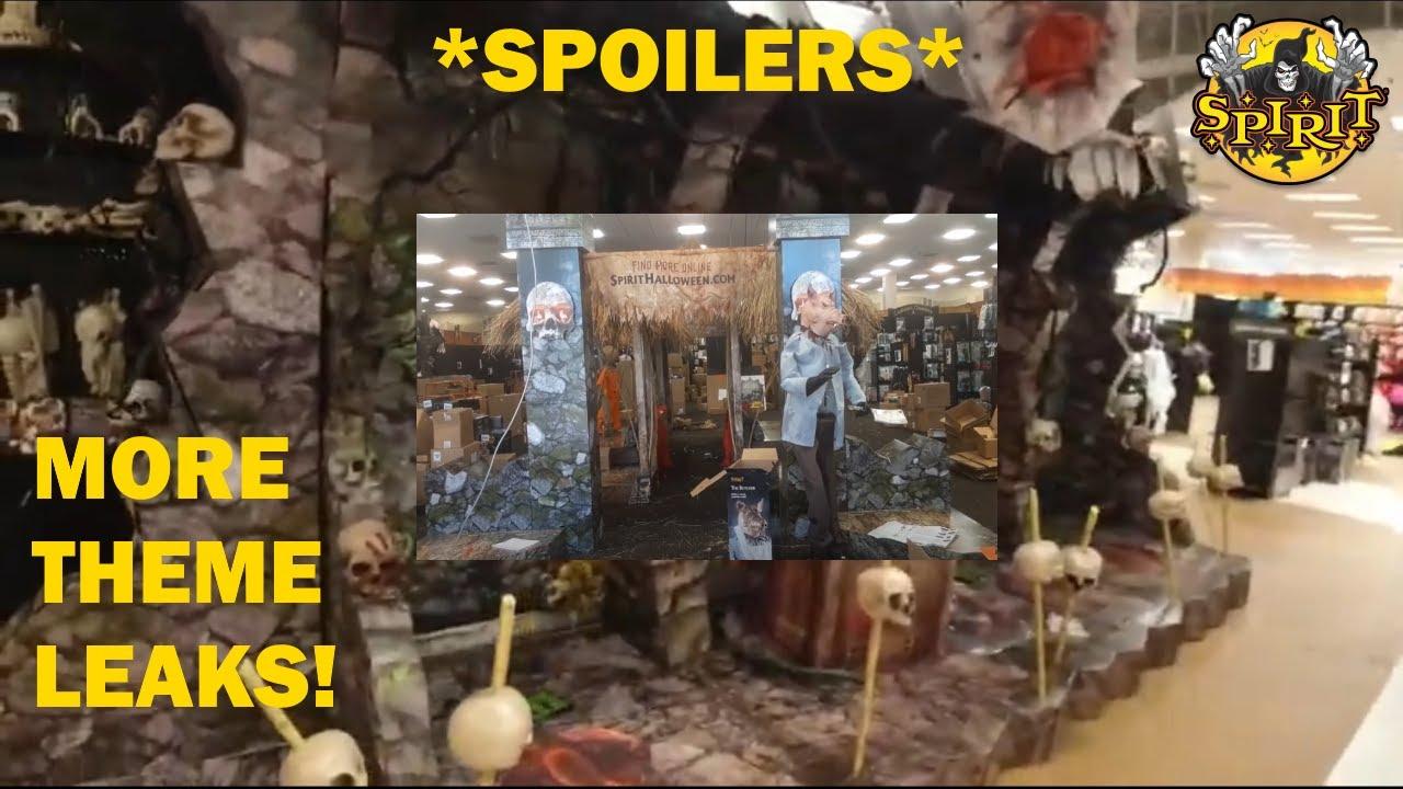 Halloween 2020 Theme Online More Theme Leaks! *SPOILERS* | Spirit Halloween 2020   YouTube